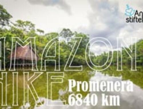 Amazon Hike för rent vatten med friskvård på köpet