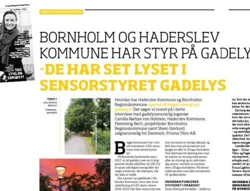 Hur kan Haderslev Kommune och Bornholms Regionskommune spara så mycket energi på gatubelysningen?